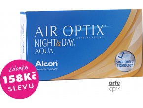 AIR OPTIX NIGHT&DAY AQUA (3 čočky)