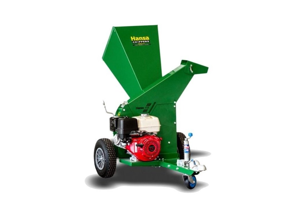 Hansa C13c - benzínový zahradní štěpkovač