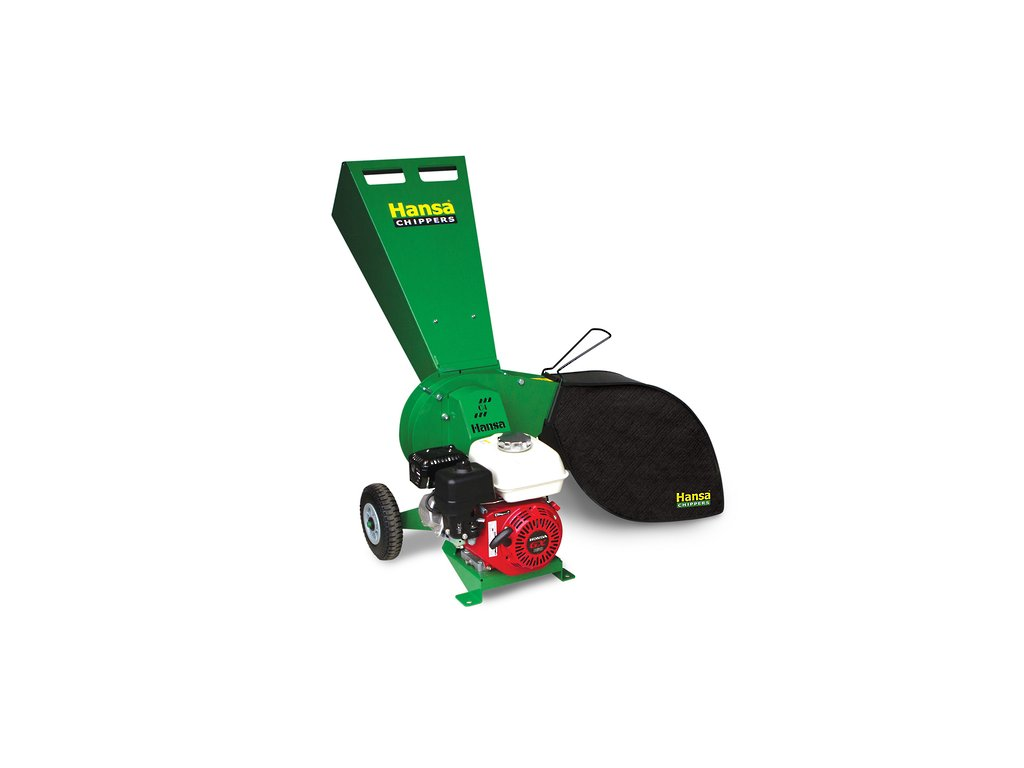 Hansa C4 - benzínový zahradní štěpkovač