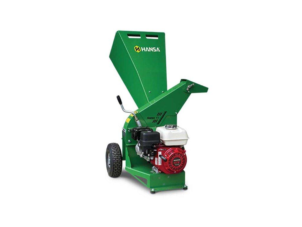 Hansa C7 - benzínový zahradní štěpkovač