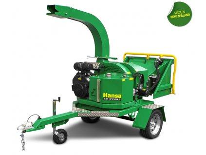 Hansa C27 - profesionální benzínový štěpkovač