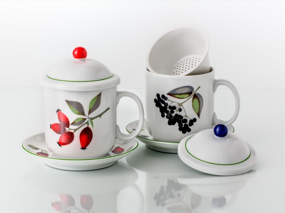 Hrnky na sypané čaje