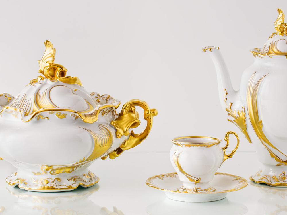 Porcelánový servis císařů