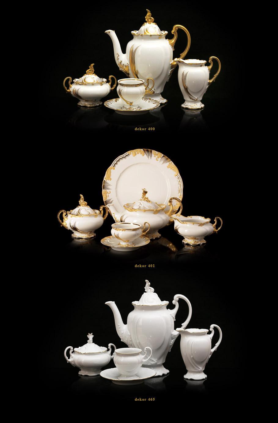 Porcelánový servis Thun - servis císařů