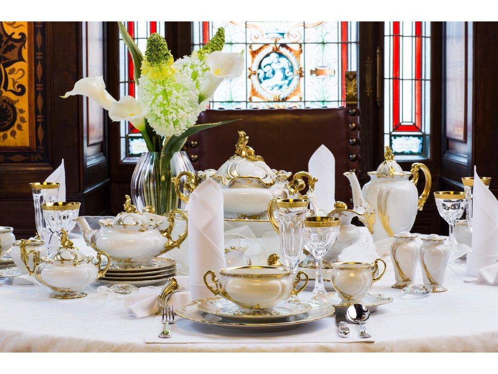 Porcelánový servis císařů THUN | Luxusní porcelán - Atelier JM Lesov