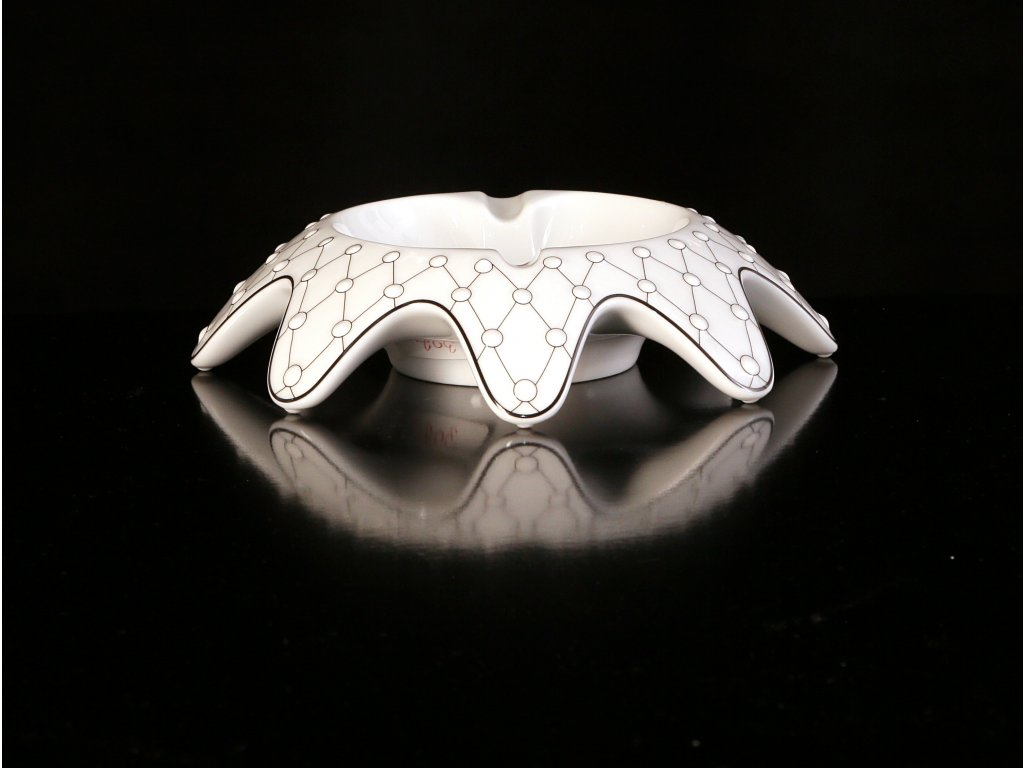 Popelník - Galaxie 302 | Luxusní porcelán - Atelier JM Lesov