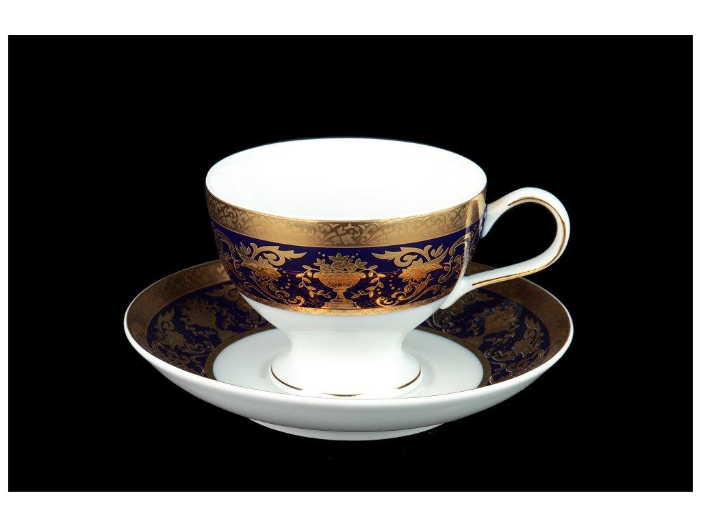 Čajový šálek s podšálkem - President 233 | Luxusní porcelán - Atelier JM Lesov