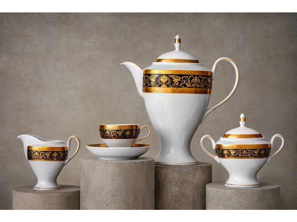 Porcelánový servis prezidentů - 231   Luxusní porcelán - Atelier JM Lesov
