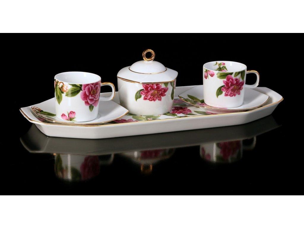 Porcelánová kávová souprava - Sophia 432AUCE | Luxusní porcelán - Atelier JM Lesov