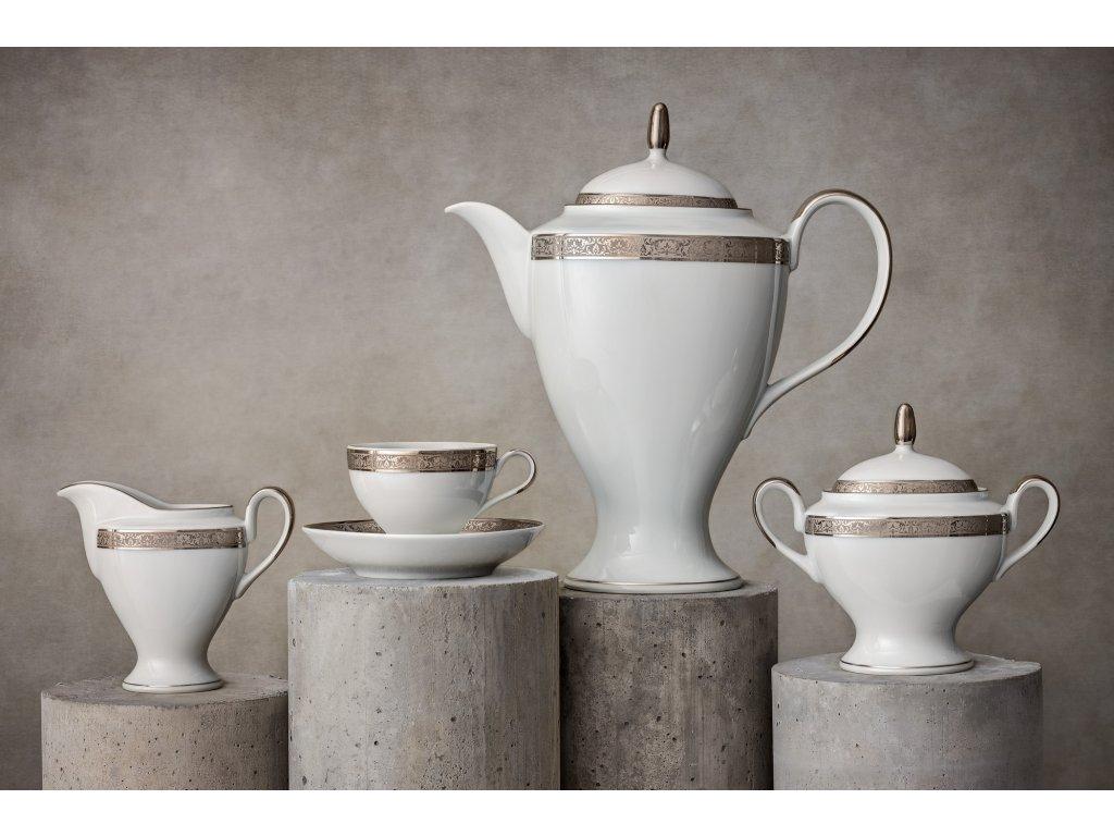 Porcelánový servis prezidentů - 198 Pt | Luxusní porcelán - Atelier JM Lesov