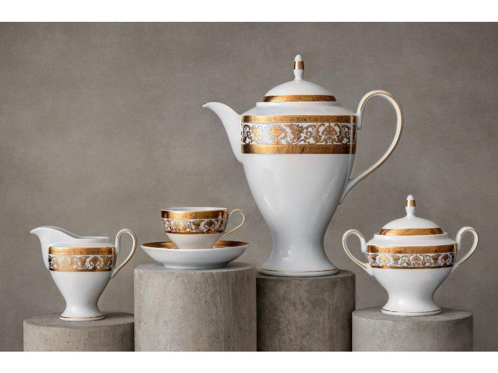 Porcelánový servis prezidentů - 200 Pt | Luxusní porcelán - Atelier JM Lesov