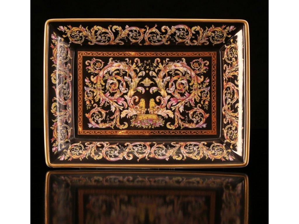 mísa, porcelánová mísa, karlovarský porcelán, český porcelán, porcelán, atelier lesov