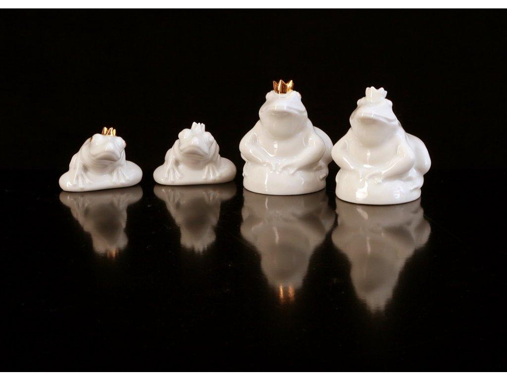 porcelánové figurky,porcelánové žabičky, karlovarský porcelán, český porcelán, porcelán, atelier lesov