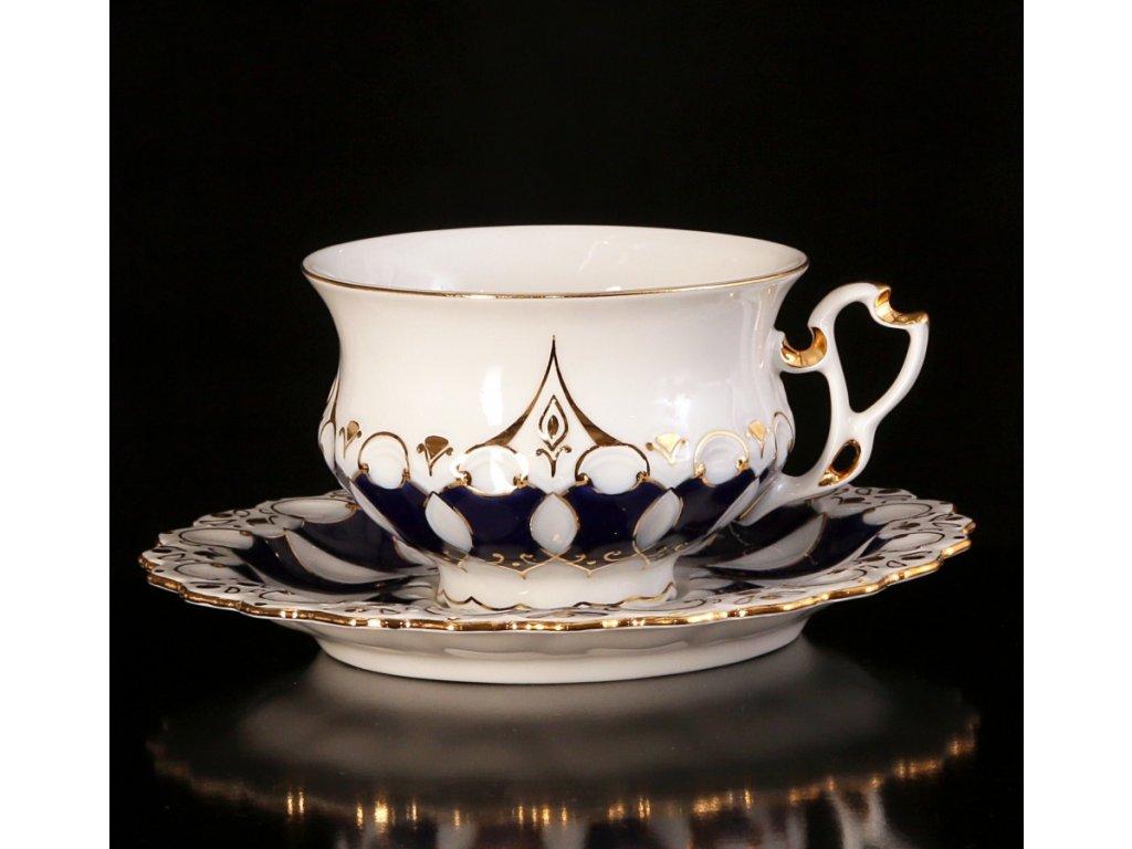 Čajový šálek s podšálkem - Elizabeth 105 | Luxusní porcelán - Atelier JM Lesov