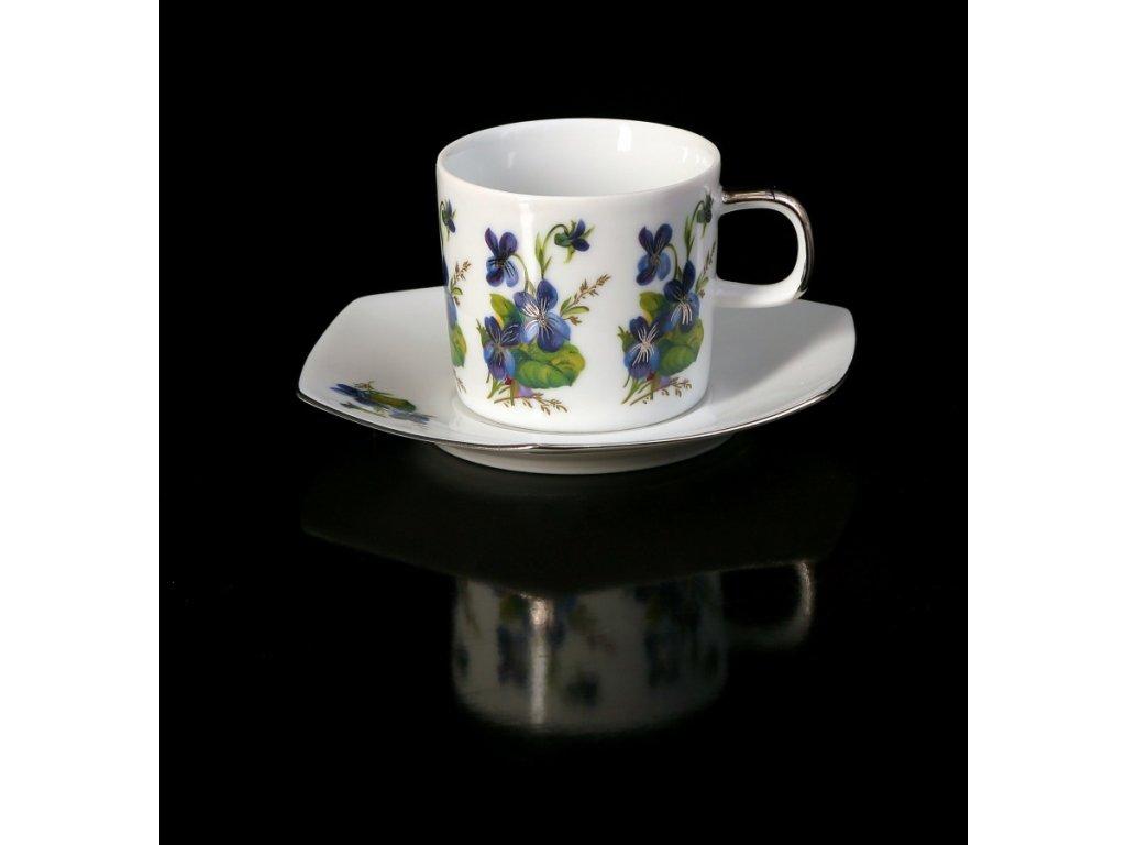 Kávový šálek s podšálkem - Sophia 430 | Luxusní porcelán - Atelier JM Lesov