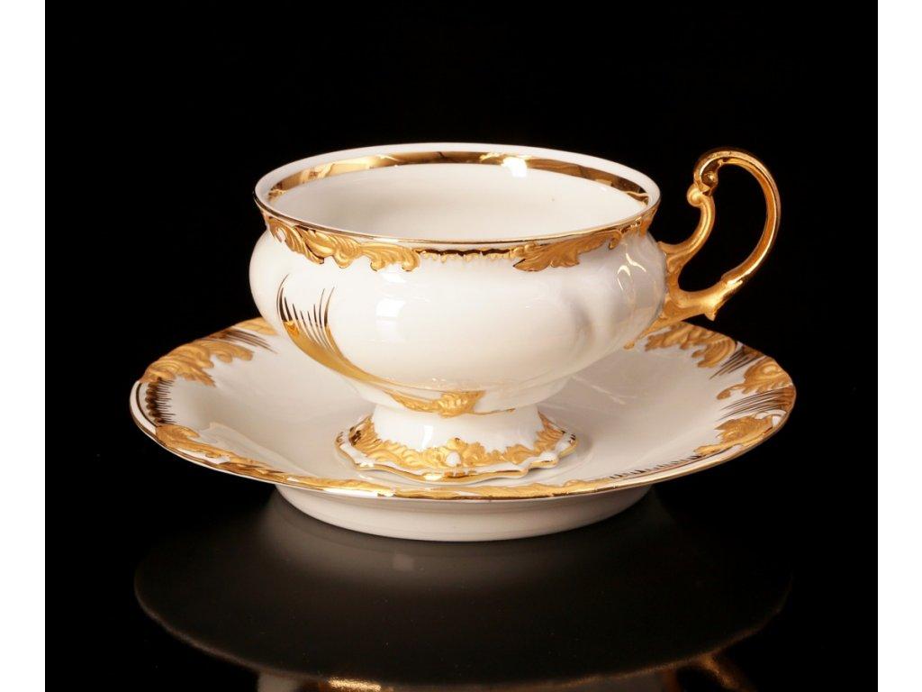 Čajový šálek s podšálkem - Thun 400 | Luxusní porcelán - Atelier JM Lesov