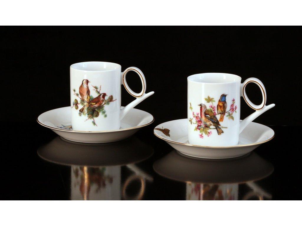 Kávový šálek s podšálkem - Yoko 933 | Luxusní porcelán - Atelier JM Lesov