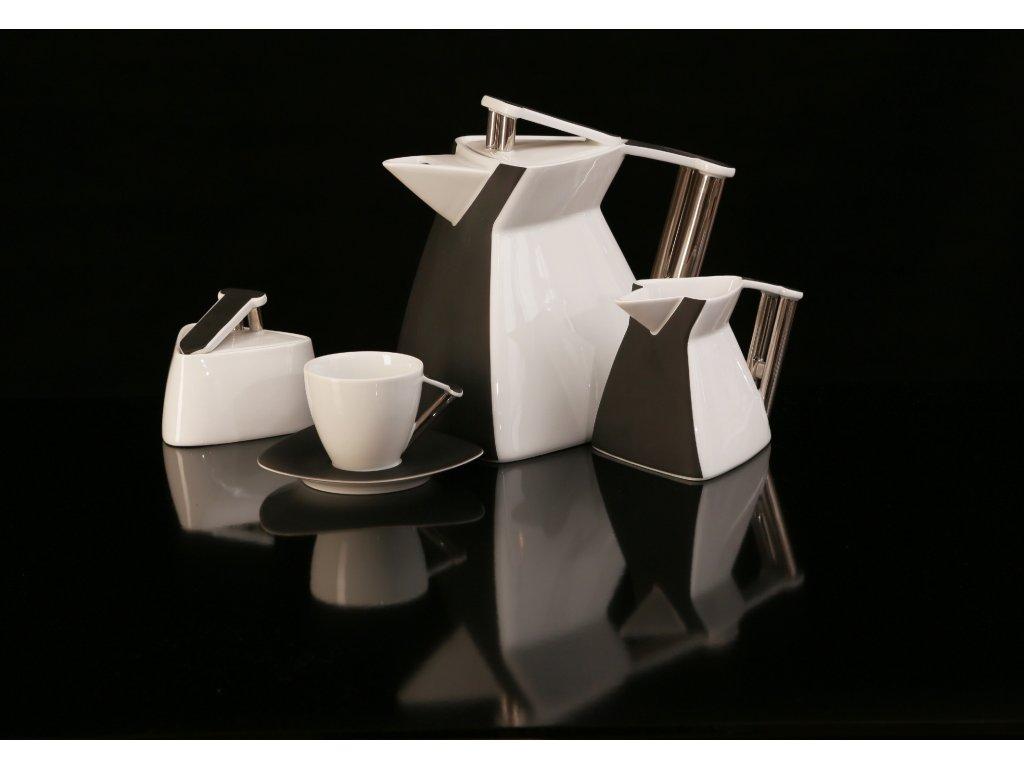 Porcelánová čajová souprava - Delta 700 | Luxusní porcelán - Atelier JM Lesov