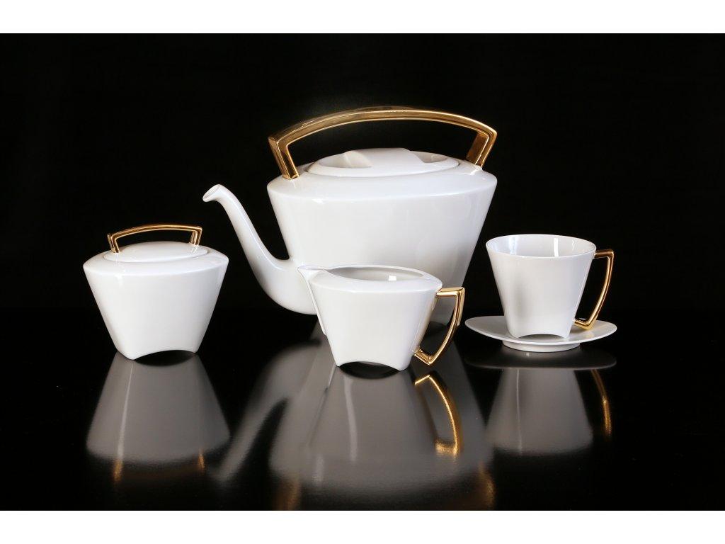 Porcelánová čajová souprava - WO-MAN 150 | Luxusní porcelán - Atelier JM Lesov