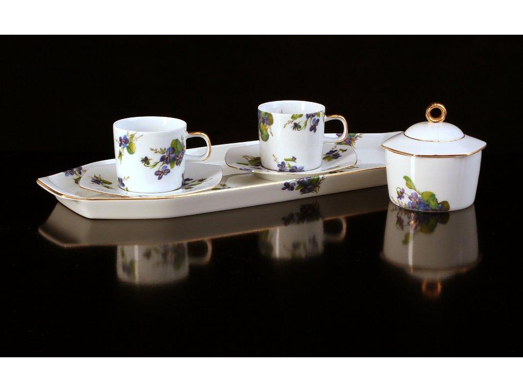 Porcelánová kávová souprava - Sophia 430 | Luxusní porcelán - Atelier JM Lesov