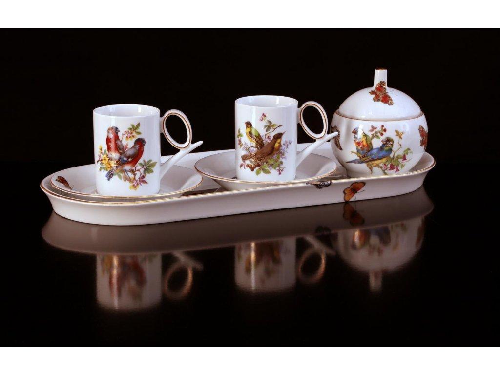 Porcelánová kávová souprava - Yoko 933 | Luxusní porcelán - Atelier JM Lesov
