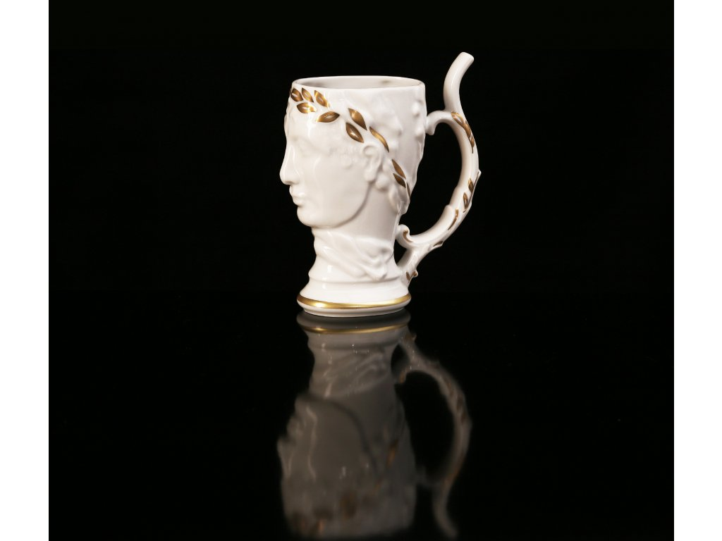 lázeňské pohárky, pohárky,karlovarský porcelán, český porcelán, atelier lesov