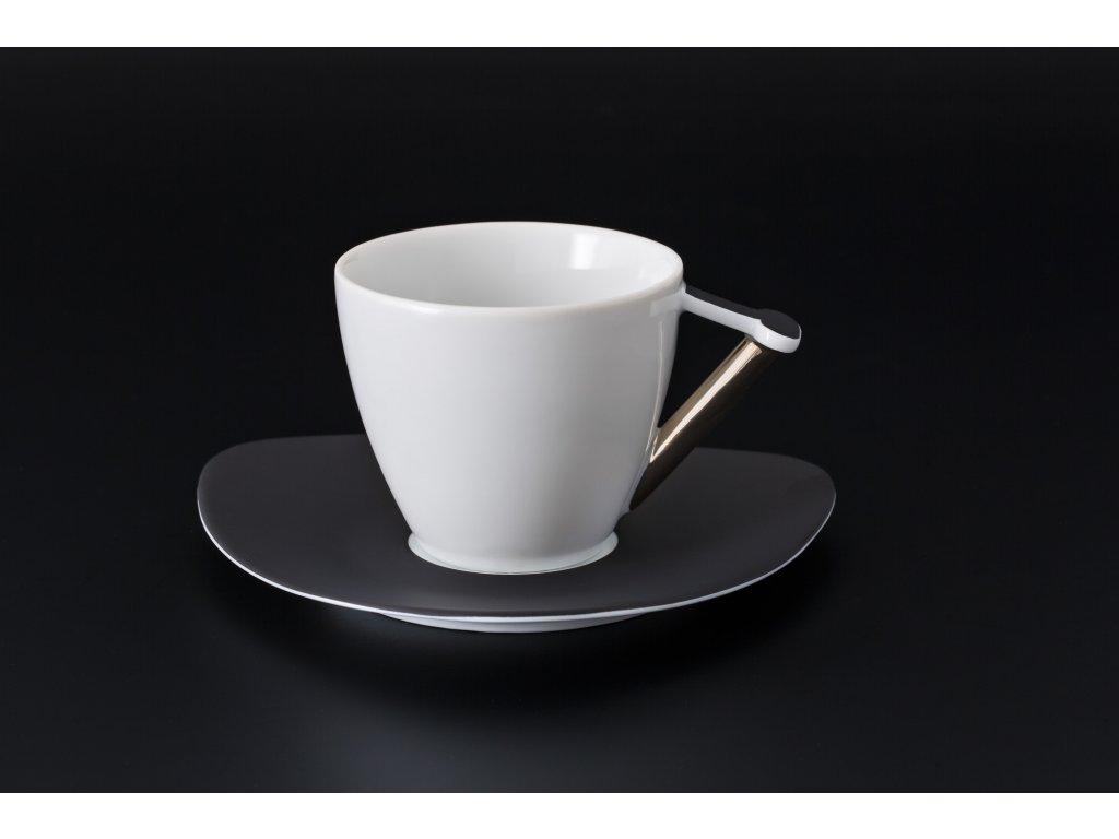 Kávový šálek s podšálkem - Delta 700 | Luxusní porcelán - Atelier JM Lesov