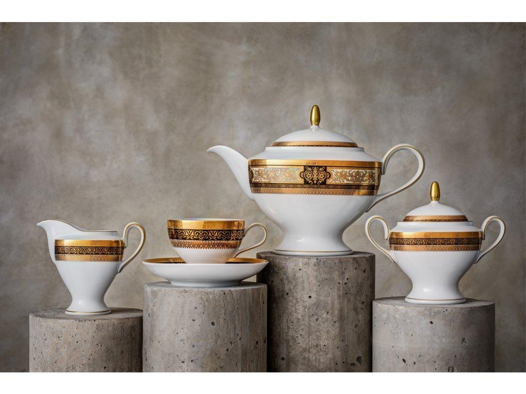 Porcelánový servis prezidentů - 232 | Luxusní porcelán - Atelier JM Lesov
