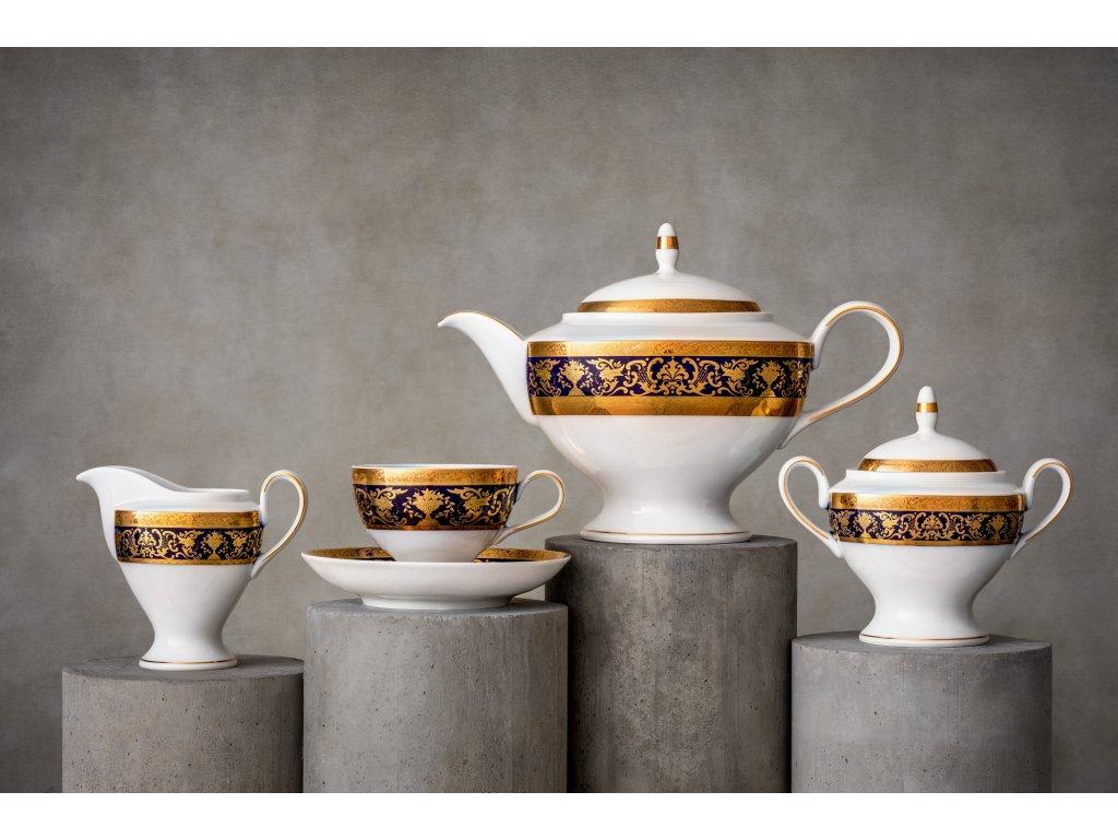 Porcelánový servis prezidentů - 233 | Luxusní porcelán - Atelier JM Lesov