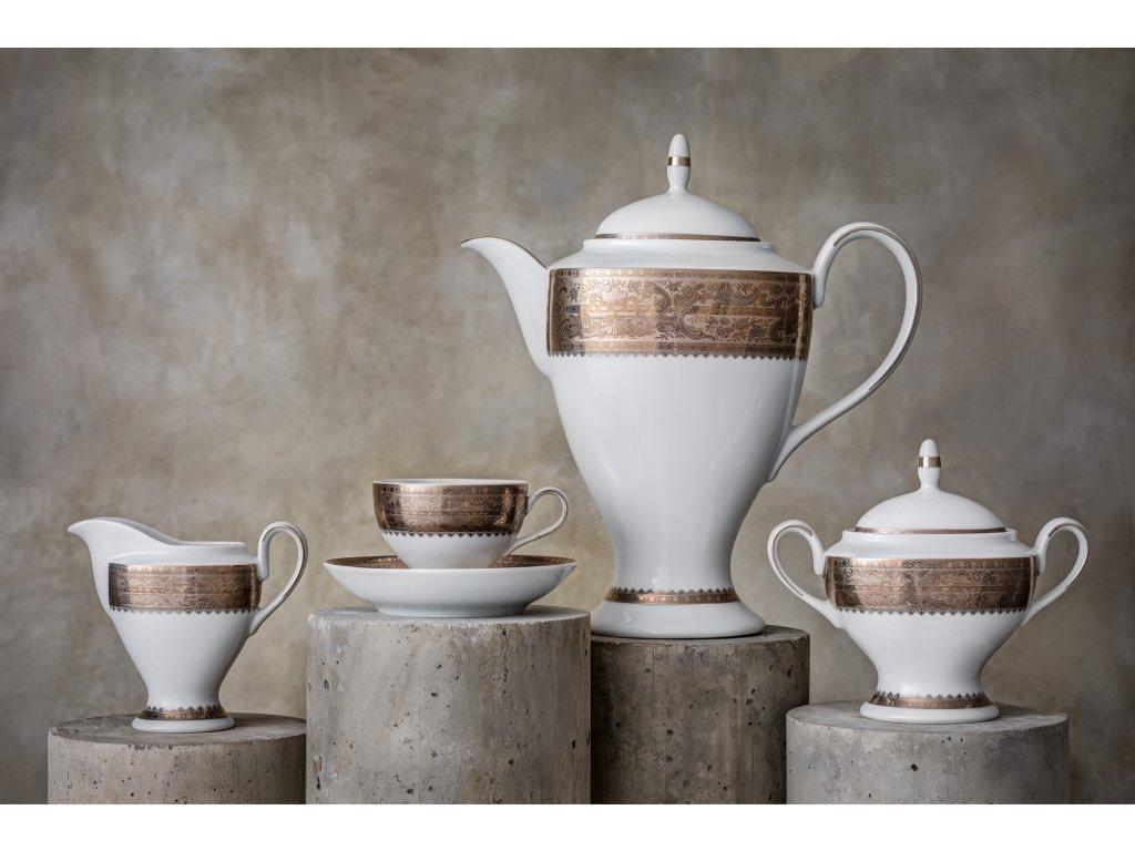 Porcelánový servis prezidentů - 201 Pt | Luxusní porcelán - Atelier JM Lesov