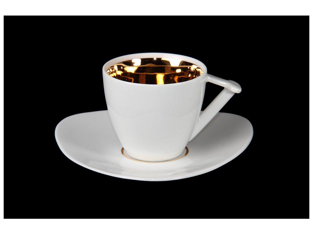 Kávový šálek s podšálkem - Best of Lesov 5 | Luxusní porcelán - Atelier JM Lesov