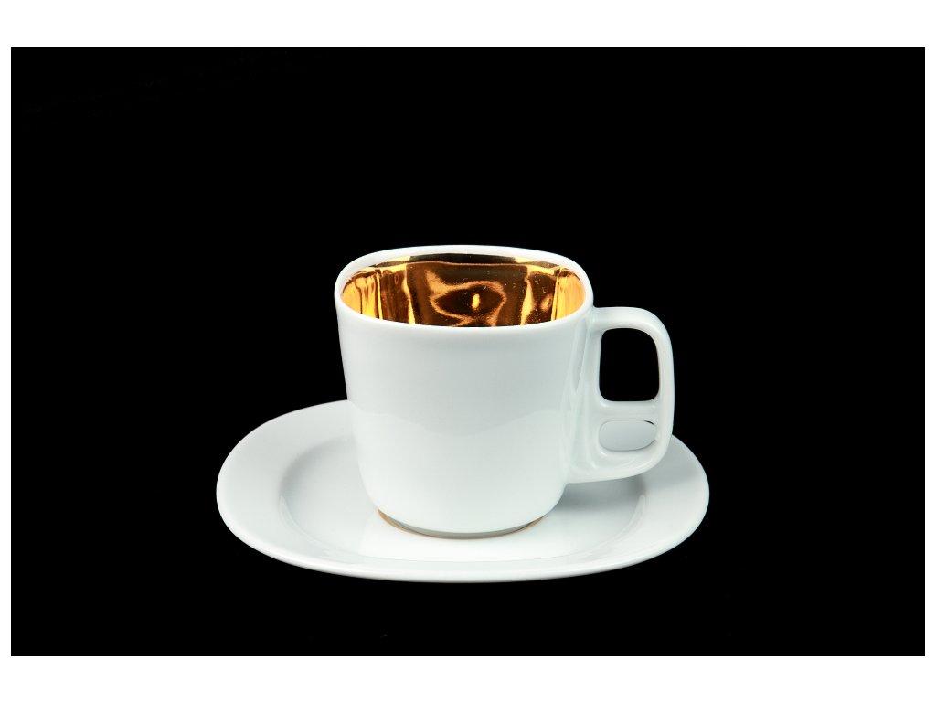 Kávový šálek s podšálkem - Best of Lesov 6 | Luxusní porcelán - Atelier JM Lesov