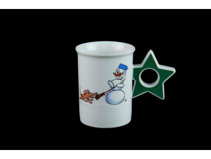 hrnek na čaj, hrnek na svařené víno, hrnek na svařák, hrnek na sypaný čaj, hrnky na čaj, porcelánové hrnky, čajové hrnky, hrnek, hrnek na hory, dětská besídka, dětská oslava, zimní oslava, hrnek na párty, párty hrnek, hrnek na oslavu, karlovarský porcelán, český porcelán, porcelánová hvězda, porcelán, Atelier Lesov