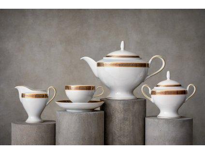 Porcelánový servis prezidentů - 210 | Luxusní porcelán - Atelier JM Lesov