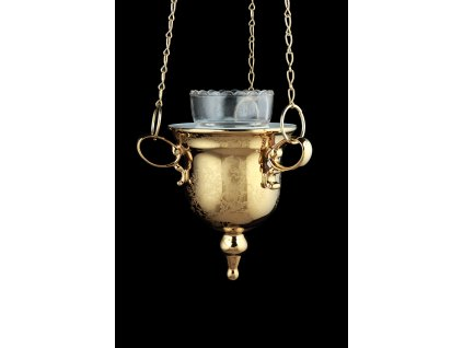 Lampa, porcelánová lampa, atelier lesov, zlatá lampa, závěsná lampa, luxusní lampa
