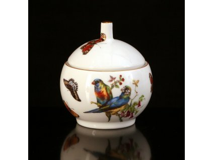 cukřenka, dóza na šperky, šperkovnice, porcelánová dóza,karlovarský porcelán, český porcelán, cesky porcelan, porcelán, porcelán prodej, atelier lesov