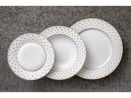 Atelier JM Lesov, Galaxie, luxusní talíře, talíře