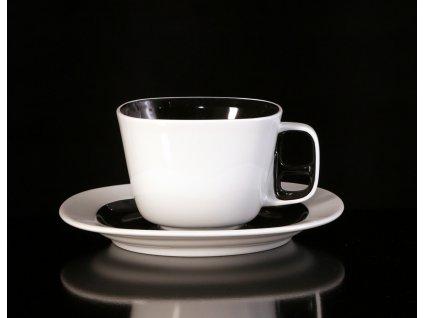 Čajový šálek s podšálkem - Keiko | Luxusní porcelán - Atelier JM Lesov