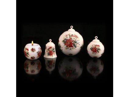 vánoce, dekorace na vánoce, výzdoba na vánoce, vánoční koule, vánoční zvonek, výroba vánočních ozdob, vánoční dekorace, vánoční výzdoba, vánoční ozdoby, vánoční výzdoba, vánoční ozdoby eshop, české vánoční ozdoby, vánoční dekorace eshop,porcelán, karlovarský porcelán, český porcelán, atelier lesov