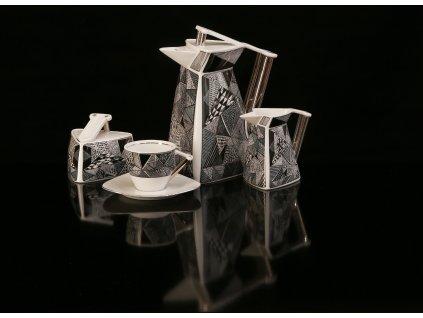 Porcelánová kávová souprava - Delta 705 | Luxusní porcelán - Atelier JM Lesov