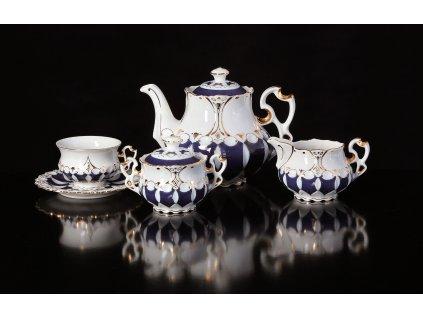 Porcelánová čajová souprava - Elizabeth 105 | Luxusní porcelán - Atelier JM Lesov