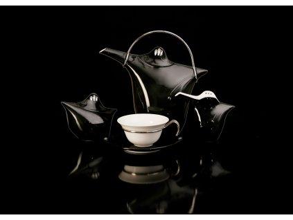 Porcelánová čajová souprava - Kapka 390 | Luxusní porcelán - Atelier JM Lesov