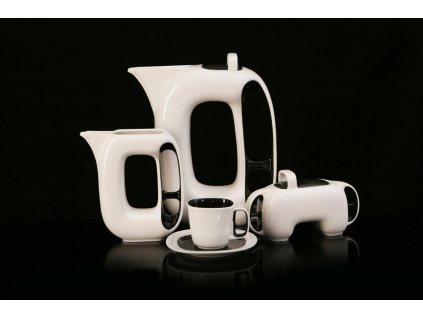 Porcelánová kávová souprava - Keiko | Luxusní porcelán - Atelier JM Lesov