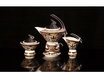 Porcelánová kávová souprava - Eva 600 | Luxusní porcelán - Atelier JM Lesov