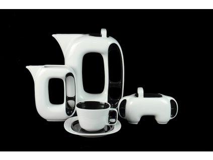 Porcelánová čajová souprava - Keiko | Luxusní porcelán - Atelier JM Lesov
