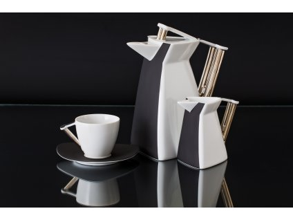 Porcelánová kávová souprava - Delta 700 | Luxusní porcelán - Atelier JM Lesov