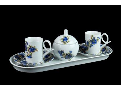 Porcelánová kávová souprava - Yoko 117cp | Luxusní porcelán - Atelier JM Lesov
