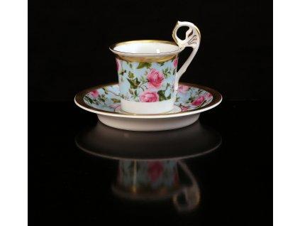 šálek s podšálkem, šálky, kávové šálky, kávové soupravy, šálek na kávu, hrnek s podšálkem, hrnek na kafe, hrnky na kávu, kávový servis, kávový set, autorské soupravy, porcelán, karlovarský porcelán, český porcelán, Atelier Lesov