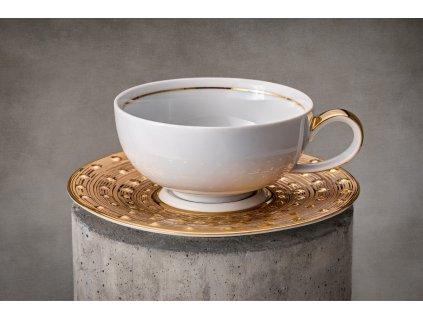čajový šálek, podšálek, čajové soupravy porcelán, čajový set, čajový servis, souprava na čaj, hrnky na čaj, čajové šálky, porcelán, karlovarský porcelán, český porcelán, atelier lesov