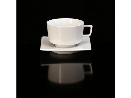 čajový šálek, podšálek, čajové soupravy porcelán, čajový set, čajový servis, souprava na čaj, hrnky na čaj, čajové šálky, porcelán, karlovarský porcelán, český porcelán, atelier lesov Polygon